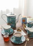 英国の午後のお茶の一定のヨーロッパの陶磁器の創造的15部分の中国の