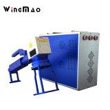 Máquina Handheld em linha da marcação do laser da fibra para a tubulação do PVC & do PPR