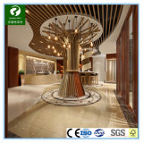Композитный пластик внутри дерева и ВКН колонки для помещений с декоративными