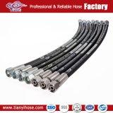 Высокий En 853 2sn шланга SAE100 R2 at/DIN стального провода давления Braided резиновый гидровлический