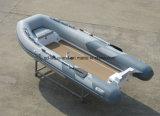 Aqualand 13pieds 4m Bateau de pêche gonflable rigide/Rib Bateau à moteur/Dinghy (RIB400)