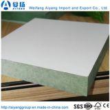 1220*2440mm impermeable MDF melamina enfrenta