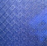 3mm /Amber 녹색 파란 또는 회색 장식무늬가 든 유리 제품