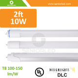 Tubo domestico T8 dell'UL Dlc 4FT 8FT LED di illuminazione
