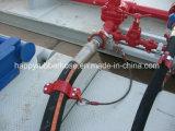 L'huile hydraulique et de la boue de forage avec un marteau de l'Union de flexible