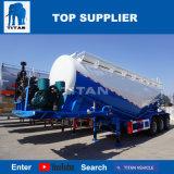Titan vehículo 3 Ejes remolques de cemento a granel de 35 metros cúbicos de capacidad para la venta