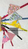 Bandana registrabile del cane del cotone della sciarpa del Bandana del collare dell'animale domestico