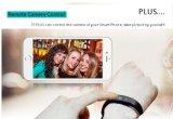 Téléphone de vente chaud I5plus de bracelet de Bluetooth 4.0 de traqueur de forme physique pour la bande sèche I5plus de téléphone d'androïde et d'IOS