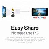 Высокоскоростной порт USB 2.0 Ступицы молнии адаптер считывающего устройства карточки SD TF карты OTG Micro-USB для iPhone iPad ЯПФ44