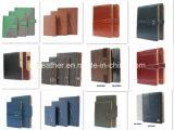 2016 journal intime en cuir d'unité centrale de livre À couverture dure de la mode A5