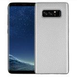 Cassa del telefono di struttura TPU della fibra del carbonio per la nota 8 di Samsung