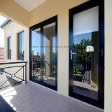 Двери двойной застеклять Feelingtop нутряным прикрепленные на петлях алюминием (FT-D80)