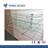 Étagère en verre clair Clair étagère en verre trempé pour Showeroom