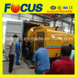 Bomba Jbt30 concreta Diesel com uso do Misturador-Pumpcrete