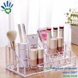 Transparenter kosmetischer acrylsauerschaukarton für Speicher