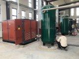 Compresor de aire del tornillo de VSD para la fábrica del grano y del petróleo