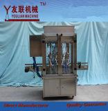 Máquina de rellenar líquida automática de Paste& de la salsa del petróleo/de la crema/de tomate de la miel de la goma de la viscosidad (GT4T-4G) 100-1000ml