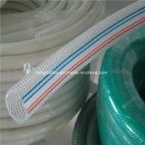 Resistentes a la abrasión de PVC reforzados nylon flexible Layflat 10 bar