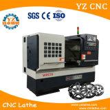 Wrc28 máquina de torno de la reparación de llanta de aleación