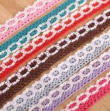 2018高品質2cmの綿のかぎ針編みのレース