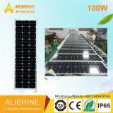im Freien der Produkt-100W SolarstraßenlaterneBewegungs-Fühler-der Lampen-LED
