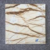 Tabella di marmo beige dorata naturale personalizzata