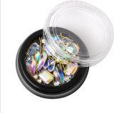 Оптовая торговля лак для ногтей - яркий дизайн оформление Gems Rhinestone Crystal для лак для ногтей искусства