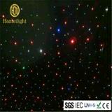 Фон ткани Twinkle занавеса СИД звезды RGBW