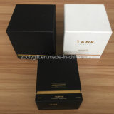Silver Foil Stamp logo Convenience solenoid box Gloss Spotvarnish logo Square PAPER box