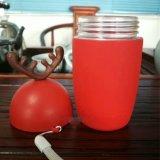 De creatieve Fles van het Water van het Glas van de Vorm van Herten Sika voor de Gift van Kerstmis