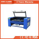 900*600mm ledernes Tuch Acryl-CO2 Laser-Ausschnitt-Maschine