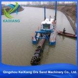 Dismountable油圧カッターの吸引の浚渫船