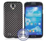 Samsung S4를 위해 고품질 100% 실제적인 탄소 섬유 이동 전화 상자 덮개를 무역하는 관례