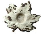 Forma de salir de arce de Portavelas de cerámica para decoración