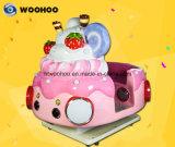 Монеты работает детская игровая площадка внутри машины Ice-Cream Wobbler машины поворотного механизма