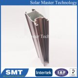 中国の上はアルミニウムプロフィールを線形柵突き出たアルミニウムVスロット陽極酸化する