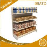 Modificado para requisitos particulares surgir el estante del supermercado de la visualización de suelo del metal para la bebida