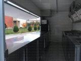 米国式のファースト・フードの移動式台所ヴァン