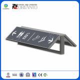 De doble cara de impresión personalizada de UV en el exterior de aluminio Vertical firmar para estacionamiento señales
