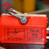 2000kg het hand Permanente Heftoestel van de Magneet voor het Magnetische Opheffen van de Plaat van het Staal