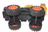 2018 por grosso de plástico do bebé Crane Truck brinquedo novo Fashion Kids Grua de madeira brinquedo máquina melhor brinquedo Caminhão Grua de madeira
