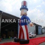 Kundenspezifischer Entwurfs-aufblasbarer Produkt-Uncle Sam