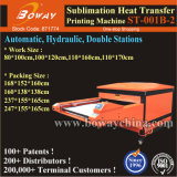 Grande taille de tissu de nylon de sublimation hydraulique automatique Appuyez sur Machine d'impression de transfert de chaleur