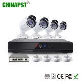 Heißeste Sicherheits-im Freien Gewehrkugel 4CH IP-Kamera-Installationssatz des Netz-720p (PST-IPK04C)