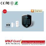 il sistema di allarme di 3G +PSTN con gli accessori dell'allarme si dirige l'impianto antifurto
