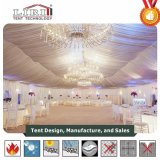 15m by 40m/20m by 50m White Tent for Wedding with Hanging Candlesticks