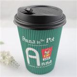 Tazza di carta stampata abitudine superiore del caffè