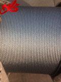 Гальванизированная веревочка изготовления стального провода 6X25fi+Iwrc