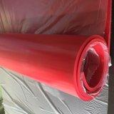 feuille rouge en caoutchouc 22MPa normal, feuille en caoutchouc normal en rouge