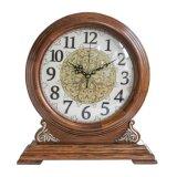 Reloj de mesa de madera, mesas de campanilla de reloj, reloj, reloj de regalo